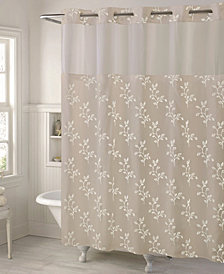 Hookless Spring Leaves 3-in-1 Shower Curtain