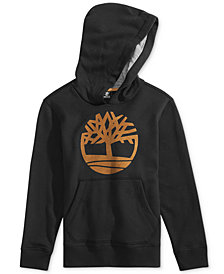 Timberland Big Boys Smith Tree Logo Graphic Hoodie