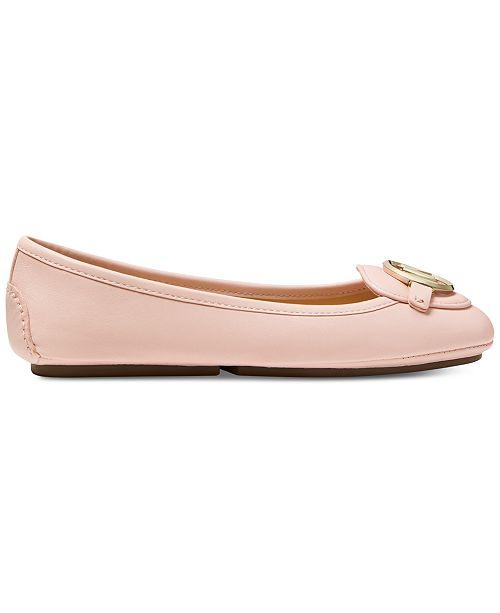 ed48a03d887e Michael Kors Lillie Moccasin Flats   Reviews - Flats - Shoes - Macy s