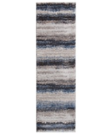 "KM Home Leisure Bay 2'3"" x 7'7"" Runner Area Rug"