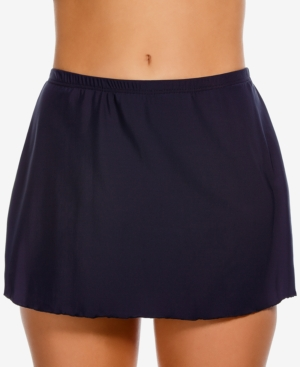 1920s Swimsuits- History, Sew & Shop- Women's Bathing Suits Miraclesuit Swim Skirt Womens Swimsuit $86.00 AT vintagedancer.com