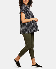 Motherhood Maternity Skinny Cargo Pants