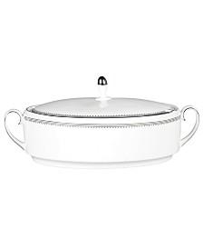Vera Wang Wedgwood Dinnerware, Grosgrain Covered Vegetable Bowl