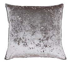 "Ibenz Ice Velvet Pillow, 22"" x 22"""
