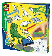 SES Creative Stamp Set Dinosaur