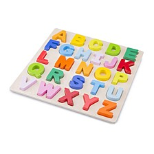 New Classic Toys Wooden Alphabet Puzzle