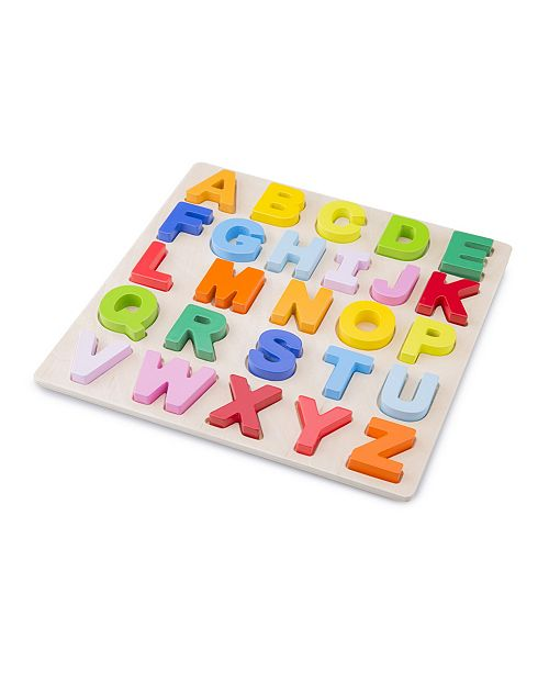 Eitech New Classic Toys Wooden Alphabet Puzzle