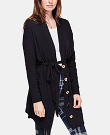 Free People Sleepy Ribbed Robe Sweater