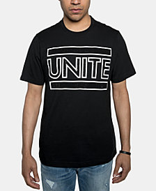 Sean John Men's Unite Rhinestone Graphic T-Shirt