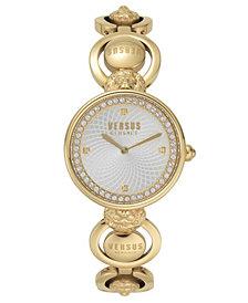 Versus Women's Victoria Harbour Yellow Gold Bracelet Watch 34mm
