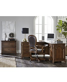 Clinton Hill Cherry Home Office Furniture Collection, Created for Macy's