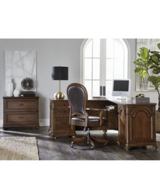 Clinton Hill Cherry Home Office Furniture Collection, Created For Macyu0027s