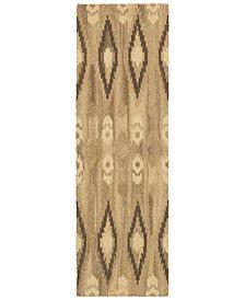 """Oriental Weavers Anastasia 68001 Sand/Ivory 2'6"""" x 8' Runner Area Rug"""