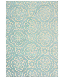"Oriental Weavers Barbados 539 6'7"" x 9'6"" Indoor/Outdoor Area Rug"