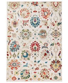 """Liora Manne' Calais 6079 Vintage Floral 7'10"""" x 10'10"""" Area Rug"""