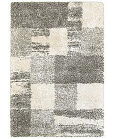 "Oriental Weavers Henderson Shag 5502H Ivory/Gray 5'3"" x 7'6"" Area Rug"