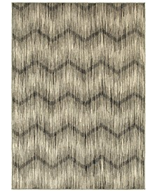 "Highlands 6608A Gray/Ivory 9'10"" x 12'10"" Area Rug"
