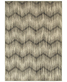"Oriental Weavers Highlands 6608A Grey/Ivory 3'10"" x 5'5"" Area Rug"