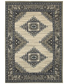 "Highlands 6658 6'7"" x 9'6"" Area Rug"