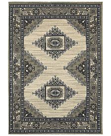 "Oriental Weavers Highlands 6658 3'10"" x 5'5"" Area Rug"