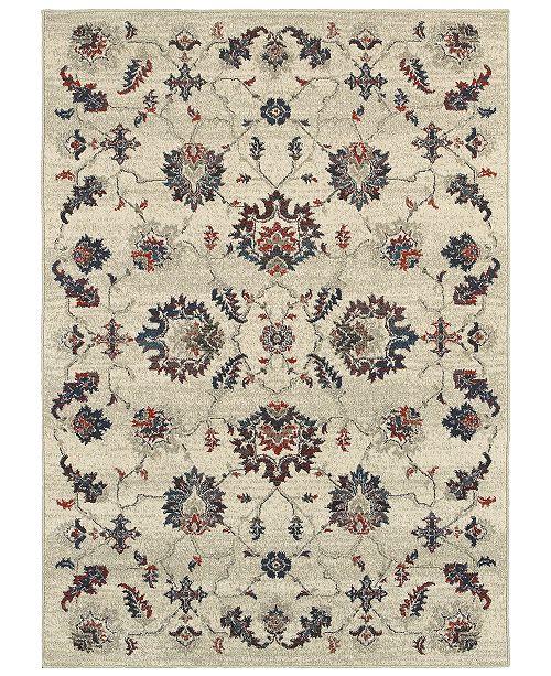 "Oriental Weavers Highlands 6684 6'7"" x 9'6"" Area Rug"