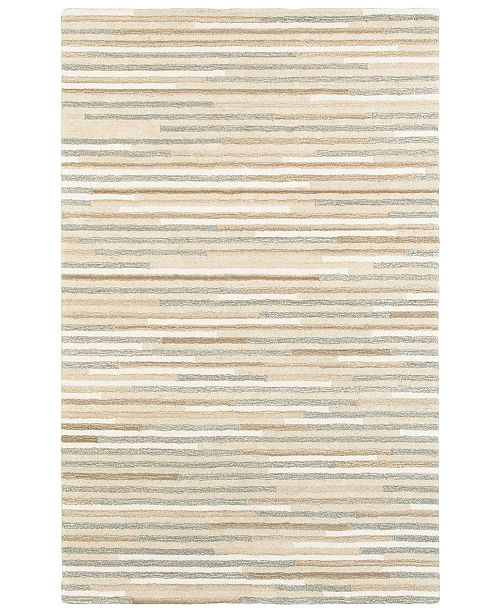 Oriental Weavers Infused 67007 Beige/Gray 5' x 8' Area Rug