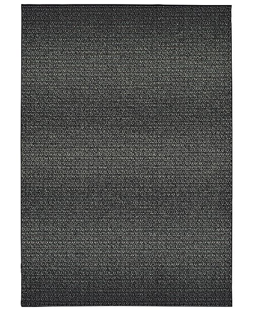 "Oriental Weavers Luna 2067B Black/Ivory 6'7"" x 9'6"" Area Rug"
