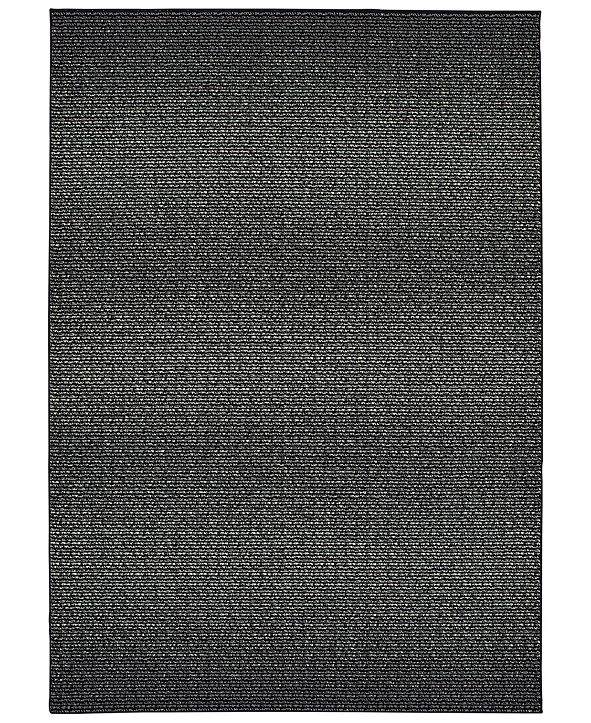 "Oriental Weavers Luna 2067B Black/Ivory 7'10"" x 10'10"" Area Rug"