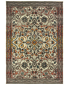 "Oriental Weavers Mantra 4929 2'3"" x 7'6"" Runner Area Rug"