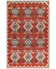 "Riviera 7645 Kilim 7'10"" Indoor/Outdoor Square Area Rug"