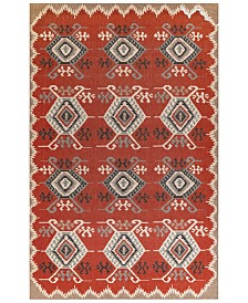 "Liora Manne' Riviera 7645 Kilim 1'11"" x 7'6"" Indoor/Outdoor Runner Area Rug"