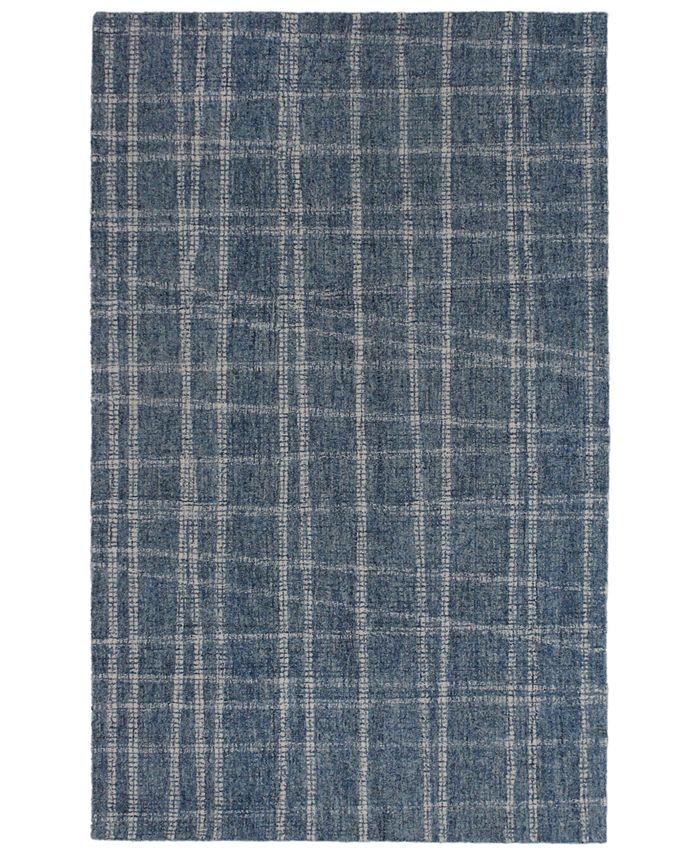 """Liora Manne' - Savannah 9506 Mad Plaid 3'6"""" x 5'6"""" Area Rug"""