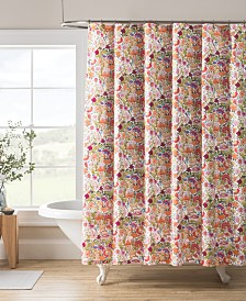 "Kim Parker Padma's Garden 72"" x 72"" Shower Curtain"