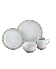 Baum Grayden 16 Piece Dinnerware Set