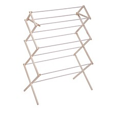 Heavy-Duty Collapsible Wood Drying Rack