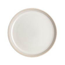 Natural Canvas Set/4 Coupe Salad Plates