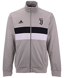 adidas Men's Juventus Club Team 3 Stripe Track Jacket
