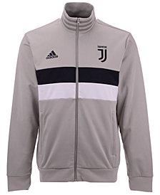adidas Men's Juventus Club Team 3 Stripe Track Jacket