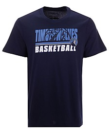 '47 Brand Men's Minnesota Timberwolves Fade Back Super Rival T-Shirt