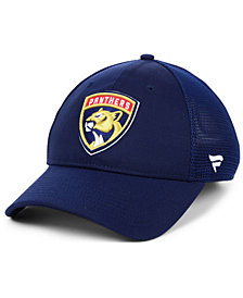 Fanatics Florida Panthers Elevated Core Trucker Snapback Cap