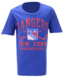 Outerstuff New York Rangers Fundamentals T-Shirt, Big Boys (8-20)