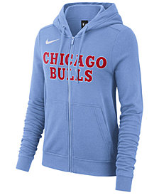 Nike Women's Chicago Bulls City Edition Full-Zip Hoodie
