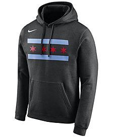 Nike Men's Chicago Bulls City Club Fleece Hoodie