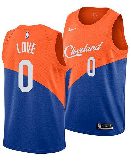 premium selection ee32c 1b65b Men's Kevin Love Cleveland Cavaliers City Swingman Jersey 2018