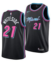 313f3f1009a Nike Hassan Whiteside Miami Heat City Edition Swingman Jersey 2018, Big Boys  (8-