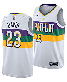 Nike Men's Anthony Davis New Orleans Pelicans City Swingman Jersey 2018