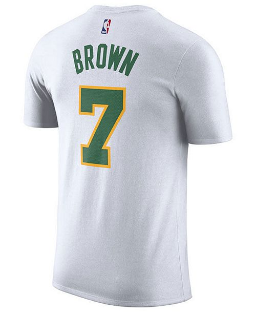 62ef704ef ... Nike Men s Jaylen Brown Boston Celtics City Player T-Shirt 2018 ...