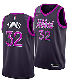 Nike Karl-Anthony Towns Minnesota Timberwolves City Edition Swingman Jersey 2018, Big Boys (8-20)