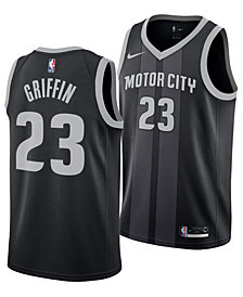 Nike Blake Griffin Detroit Pistons City Edition Swingman Jersey 2018, Big Boys (8-20)