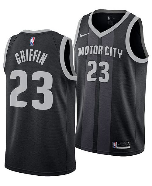 Nike Blake Griffin Detroit Pistons City Edition Swingman Jersey 2018, Big Boys (8-20)